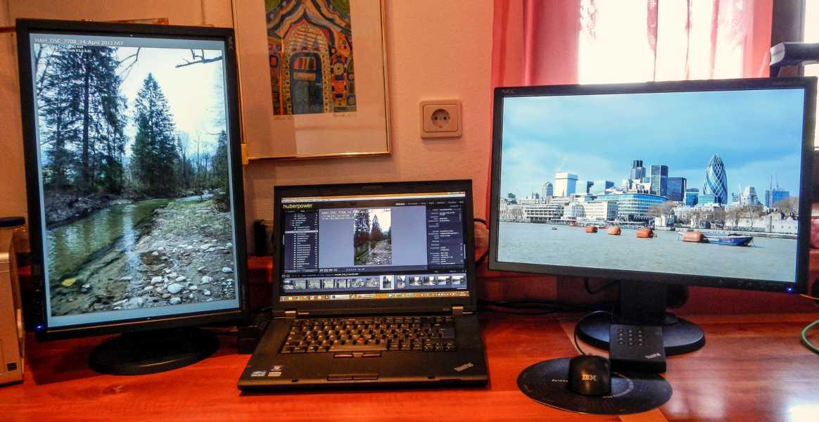 ThinkPad W520 für Fotobearbeitung
