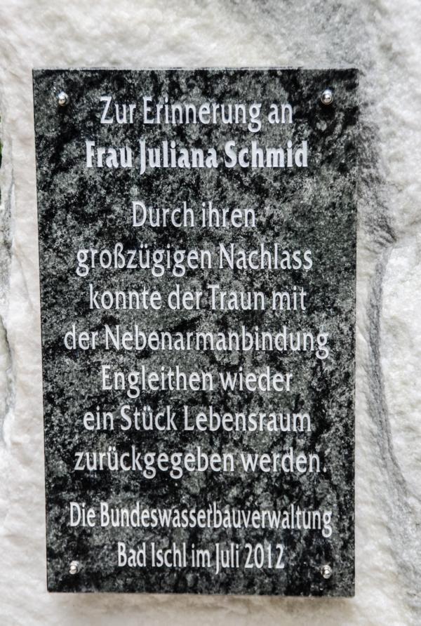 Gedenkstein beim Kaiserstandbild, am Fuße der Katrin