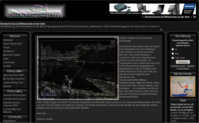 """Meine erste WEB-Site - basierend aus dem Autorensystem """"phpkit"""""""