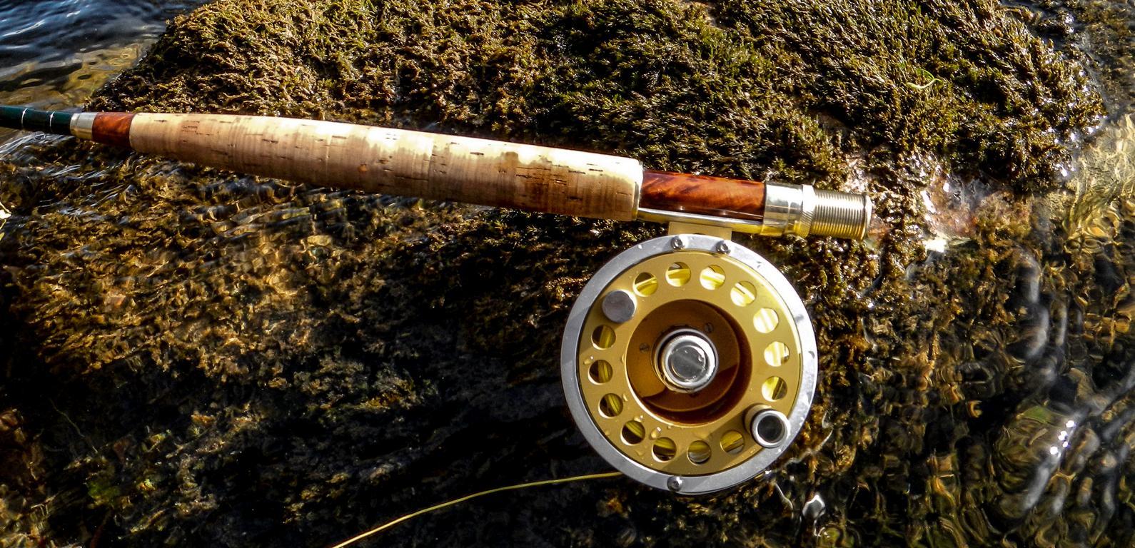 Die SAGE Z-Axis 9 ft. #6 mit einer Ari t Hart ist das richtige Gerät für die Nymphe