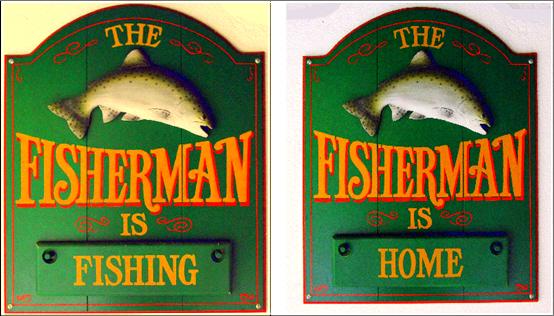 FISHERMAN IS HOME vs FISHING