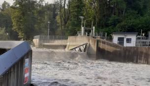 Ischl Hochwasser Restwasserstrecke Tagliamento